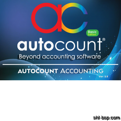 AutoCount Accounting V2 Basic Edition