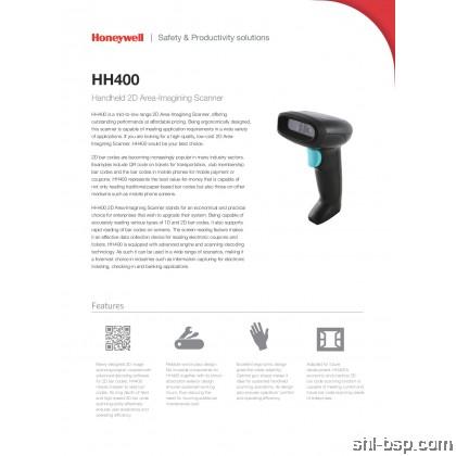 Honeywell HH400 Handheld 2D Area-Imagining Scanner
