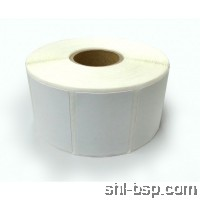 Barcode Label (1 Inch Core) 35MM(W) X 25MM(H) 2000PCS/R Blank (Art Paper)