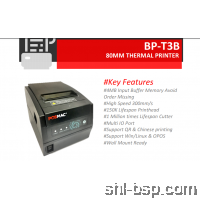 Posmac Thermal Receipt Printer BP-T3B (USB,LAN)