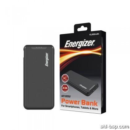 Energizer Power Bank UE10046,UE10052 10000mAh Dual USB Fast Charge 2.1A Slim